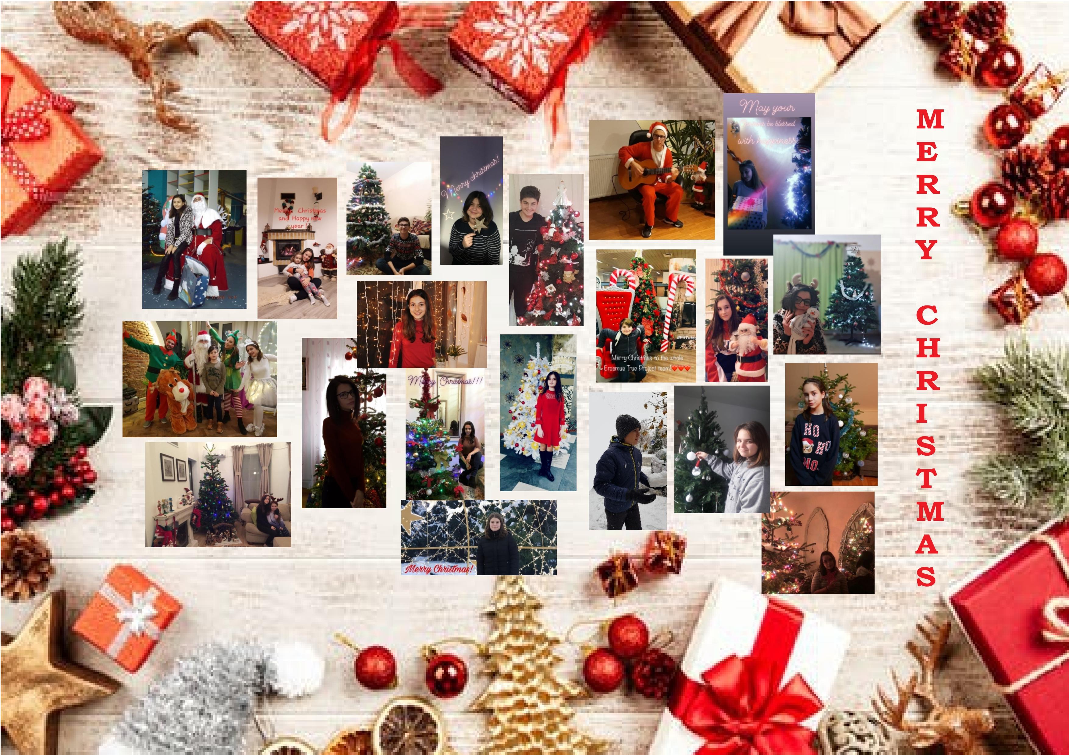 Gli auguri di Natale della scuola Mircea Eliade in Romania